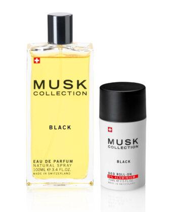 Black Musk 100 Ml Flakon Und Deo